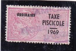 T.F. Taxe Piscicole N°149 - Fiscaux