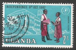 Uganda. 1962-64 Independence. 2/- Used. SG 107 - Uganda (1962-...)