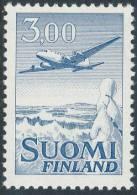 FINLAND/Finnland 1974, M-63 Definitive PHOSPHOR Aeroplane 3,00 EGpQ** - Finlandia