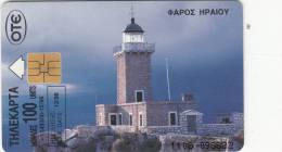 GREECE - Lighthouse, Loutraki Corinthias, 12/96, Used - Lighthouses