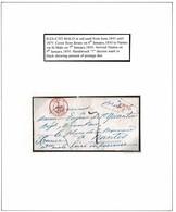 JERSEY CHANNEL ISLANDS FRANCE ST MALO NANTES 1850 MARITIME - Jersey