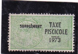 T.F. Taxe Piscicole N°179 - Fiscaux
