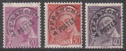 Année 1922 - 1947 - Préos - N° 78 à 83 - Type Mercure ( N° 410 - 412 - 413 - 548 - 538 - 415 ) - 6 Valeurs - Neufs - 1893-1947