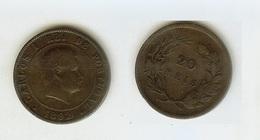 Portogallo / Portugal: 20 Reis 1892 (Carlos I Rei De Portugal) - Portogallo