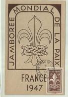 **1 X JAMBOREE MONDIAL DE LA PAIX - FRANCE 1947 - Scoutisme