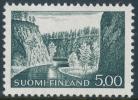 FINLAND 1974, M-63 Definitive PHOSPHOR Kuusamo 5,00 BoQ** - Finlandia