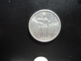 POLYNÉSIE FRANÇAISE : 1 FRANC  1965   G.2 / KM 2     SPL - Polynésie Française