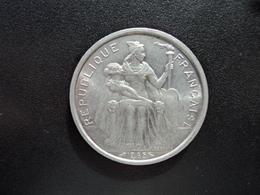 POLYNÉSIE FRANÇAISE : 5 FRANCS  1965   G.47 / KM 4     SPL - Frans-Polynesië