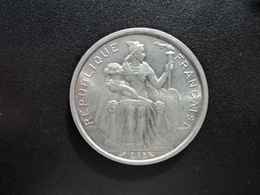 POLYNÉSIE FRANÇAISE : 5 FRANCS  1965   G.47 / KM 4     SPL - French Polynesia