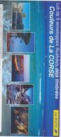 FRANCE 5 Enveloppes PAP Prêt à Poster Couleurs De La Corse°YT 3598 Sous Blister - 2004 - Entiers Postaux