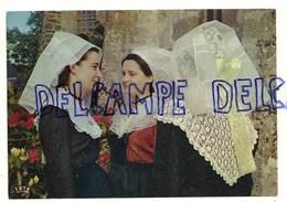 """France. Folklore En Limousin. Limousines Coiffées Du """"barbichet"""". IRIS. Cap-Théojac - Costumes"""