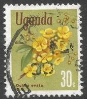 Uganda. 1969 Flowers. 30c Used. SG 135 - Uganda (1962-...)