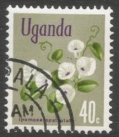 Uganda. 1969 Flowers. 40c Used. SG 136 - Uganda (1962-...)