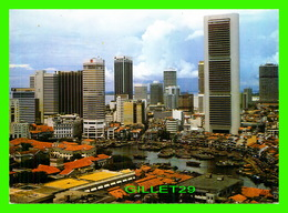 SINGAPOUR - TOWERING SKYSCRAPERS, PICTURESQUE ROOF TOPS -  A. & T. INTERNATIONAL LTD - - Singapour
