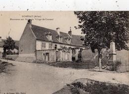 DOMERAT MONUMENT AUX MORTS DU VILLAGE DE COURAUD - France