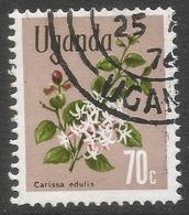 Uganda. 1969 Flowers. 70c Used. SG 139 - Uganda (1962-...)