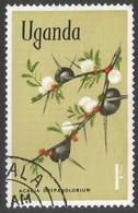 Uganda. 1969 Flowers. 1/- Used. SG 140 - Uganda (1962-...)