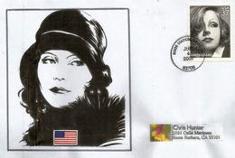Hommage à Greta Garbo.(Anna Christie 1930), Belle Lettre Adressée En Californie - Acteurs