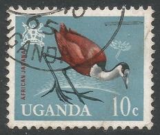 Uganda. 1965 Birds. 10c Used. SG 114 - Uganda (1962-...)