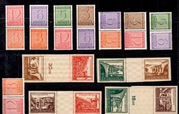 Allemagne/Saxe Occidentale Et Thuringe Lot De Paires Se-tenant Neufs *. B/TB. A Saisir! - Sowjetische Zone (SBZ)