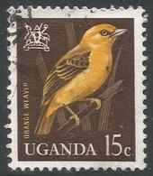 Uganda. 1965 Birds. 15c Used. SG 115 - Uganda (1962-...)
