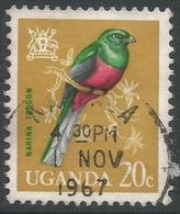Uganda. 1965 Birds. 20c Used. SG 116 - Uganda (1962-...)