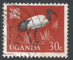 Uganda. 1965 Birds. 30c Used. SG 117 - Uganda (1962-...)