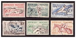 Série N° 960 à 965 Obl. - Oblitérés