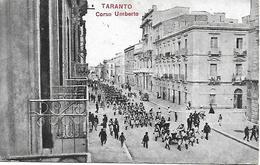 TARANTO - CORSO UMBERTO - 1918 - Taranto