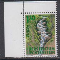 Europa Cept 2001 Liechtenstein 1v (corner) ** Mnh (42265) - 2001