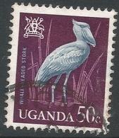 Uganda. 1965 Birds. 50c Used. SG 119 - Uganda (1962-...)