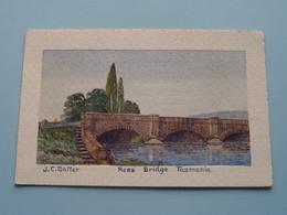 ROSS Bridge ( J.C. Salter ) Anno 19?? ( Zie / Voir Photo ) Painted Card ! - Australie