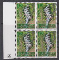 Europa Cept 2001 Liechtenstein 1v Bl Of 4 ** Mnh (42265A) - 2001