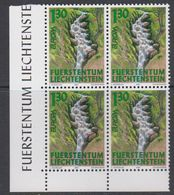 Europa Cept 2001 Liechtenstein 1v Bl Of 4 (corner) ** Mnh (42265B) - 2001