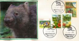 Quokka (Rat Géant)   Rottnest Island. Australia,  Lettre De L'île Rottnest - Knaagdieren