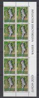 Europa Cept 2001 Liechtenstein 1v Bl Of 10 ** Mnh (42265C) - 2001