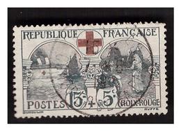 Timbre N° 156 OBL 1 Dent Courte En Haut à Droite - Used Stamps