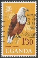 Uganda. 1965 Birds. 1/30 Used. SG 122 - Uganda (1962-...)