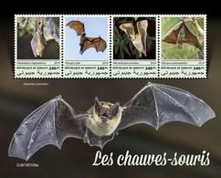 2019-03- DJIBOUTI -  BATS       4V    MNH** - Chauve-souris