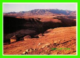 QABA, LESOTHO - MOUNTAIN RANGE - ANIMATED - TRAVEL IN 1987 - - Lesotho
