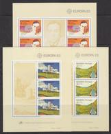 Europa Cept 1983 Portugal, Azores, Madeira 3 M/s ** Mnh (42267) - 1983