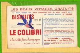 Buvard & Blotting Paper :Biscuits   LE COLIBRI - Biscottes