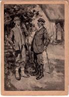 LATVIA.LETTLAND. I. ZEBERINS. Latvian Painters 1920s Photo Postcard - Latvia