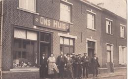 Haacht: Ons Huis In De Statiestraat.. (Fotokaart) - Haacht