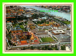 BANGKOK, THAILAND - BIRD'S EYE VIEW OF THE TOWN WITH WAT POHRA KEO & GRAND PALACE - TRAVEL IN 1924 - - Thaïlande