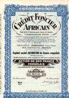 CREDIT FONCIER AFRICAIN LEOPOLDVILLE - Actions & Titres