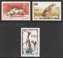 Somali Coast - Scott #271-73 MNH - Französich-Somaliküste (1894-1967)