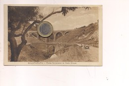 TP220 Sicilia SALAPARUTA TRAPANI 1935 Viaggiata FERROVIA Auto - Autres Villes