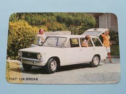 FIAT 124 BREAK ( Editie - Uitgave België / Zie Foto Voor Details ) ! - Voitures