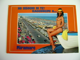 MIRAMARE     FEMME  Woman - Girl -    SENO  SEIN    NU  NUE   FEMME    PIN UP   NON  VIAGGIATA - Pin-Ups